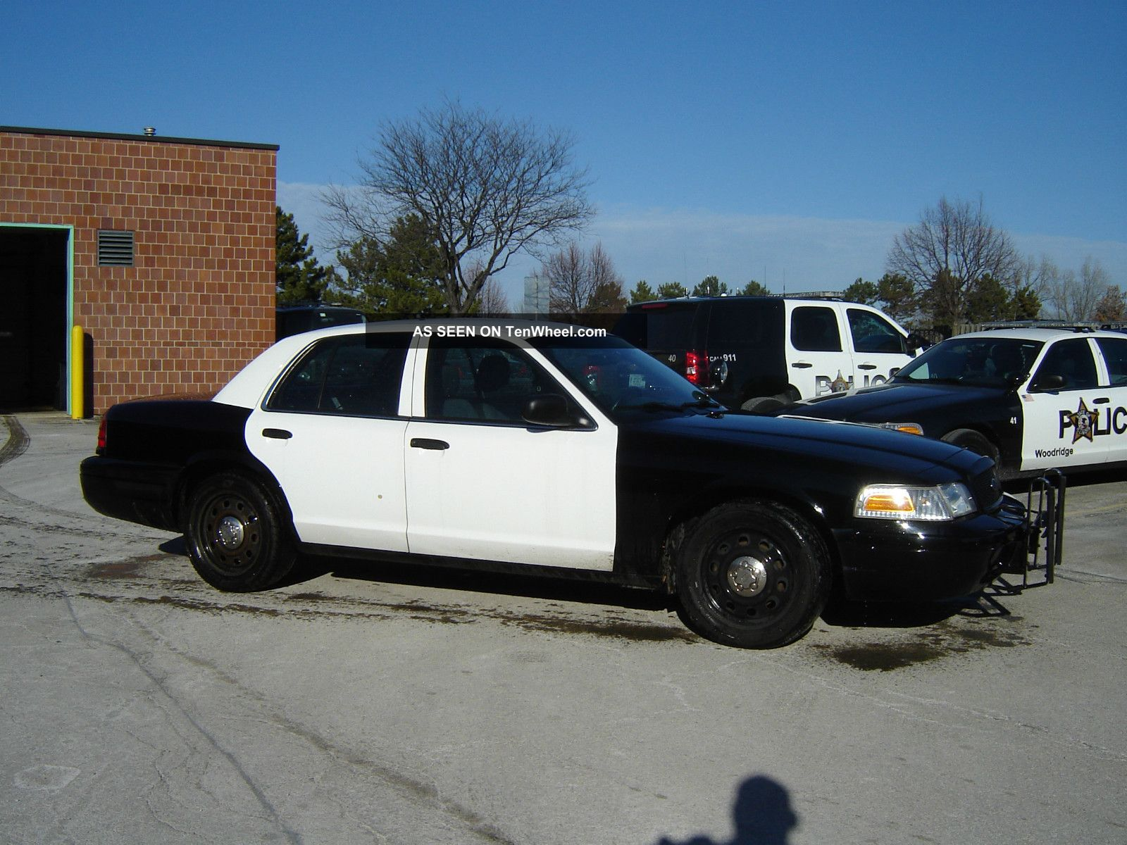2010 Ford Crown Victoria Police Interceptor Sedan Crown Victoria photo