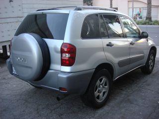 2004 Toyota Rav4 Base Sport Utility 4 - Door 2.  4l photo