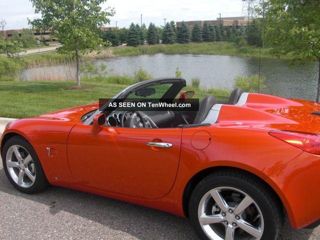 2009 Pontiac Solstice Gxp Convertible 2 Door 2 0l