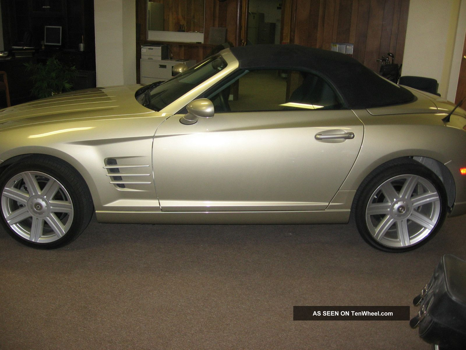 chrysler crossfire limited roadster convertible  seater