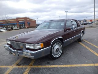 Low - Mileage,  Pristine,  1990 Cadillac Sedan De Ville photo