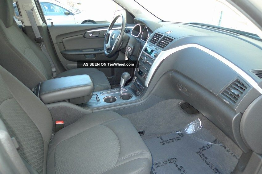 2012 chevy traverse 2lt awd 3 6l v6 third row seats. Black Bedroom Furniture Sets. Home Design Ideas