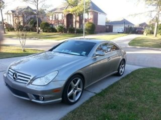 2006 Mercedes - Benz Cls55 Amg Base Sedan 4 - Door 5.  5l photo
