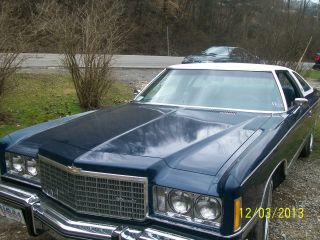 1974 Chevrolet Caprice Classic Blue,  White Vinyl Top,  Immaculate, photo