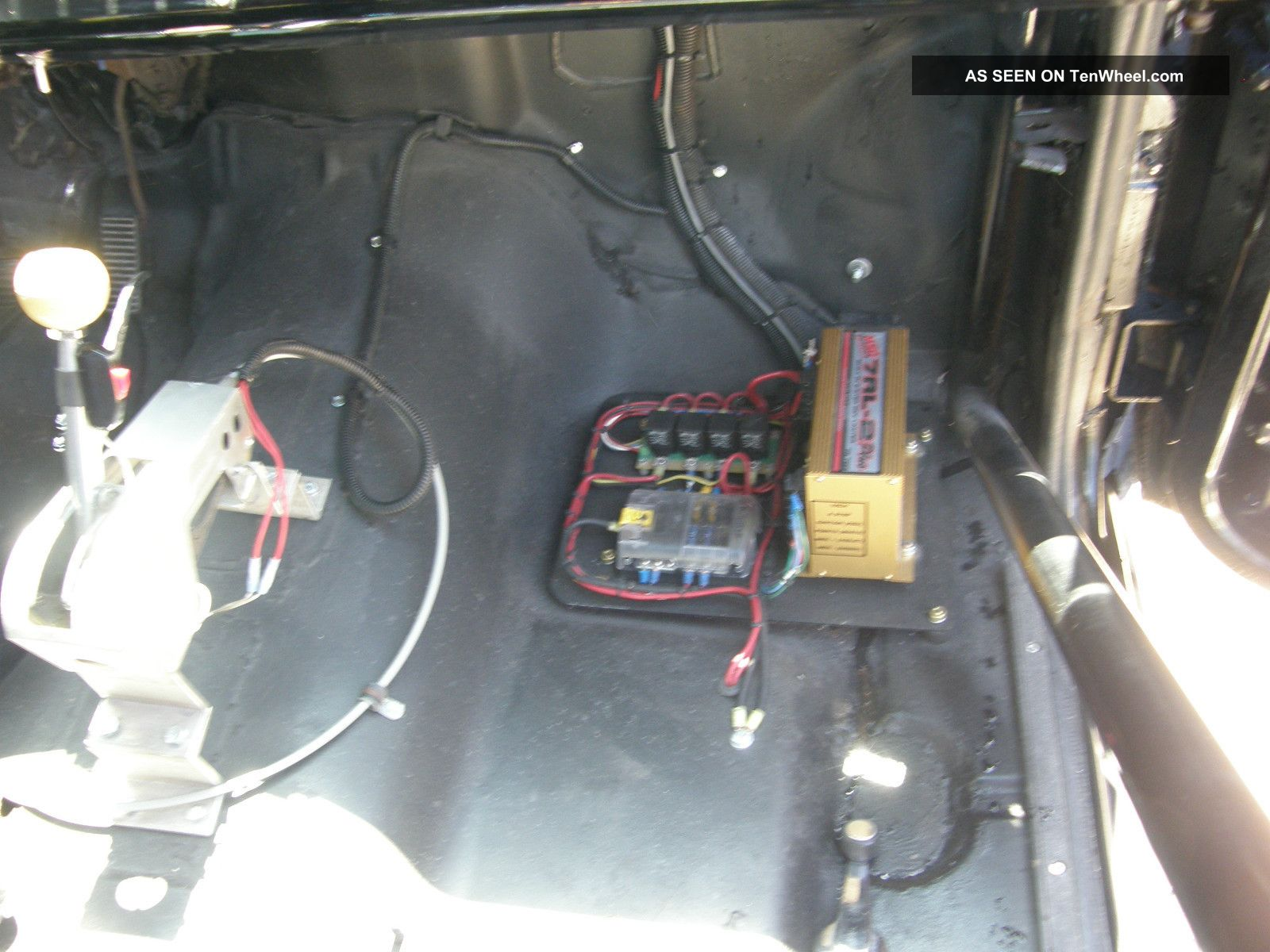 1983 S 10 Pickup Drag Race Electrical Wiring