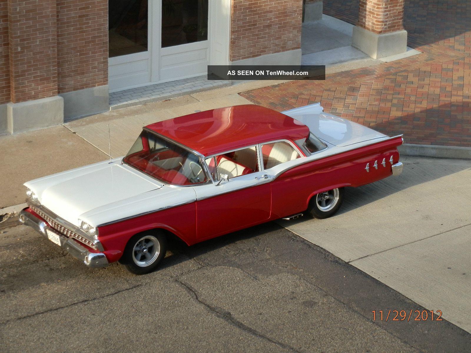 1959 Ford Custom 300 - Mildly Custom,  302c.  I. ,  Aod,  Lovingly Maintained Galaxie photo