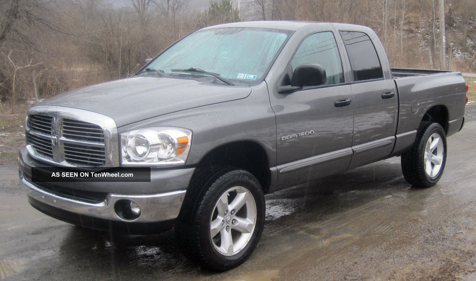 2007 Dodge Ram 1500 Slt Crew Cab Pickup 4 Door 4 7l