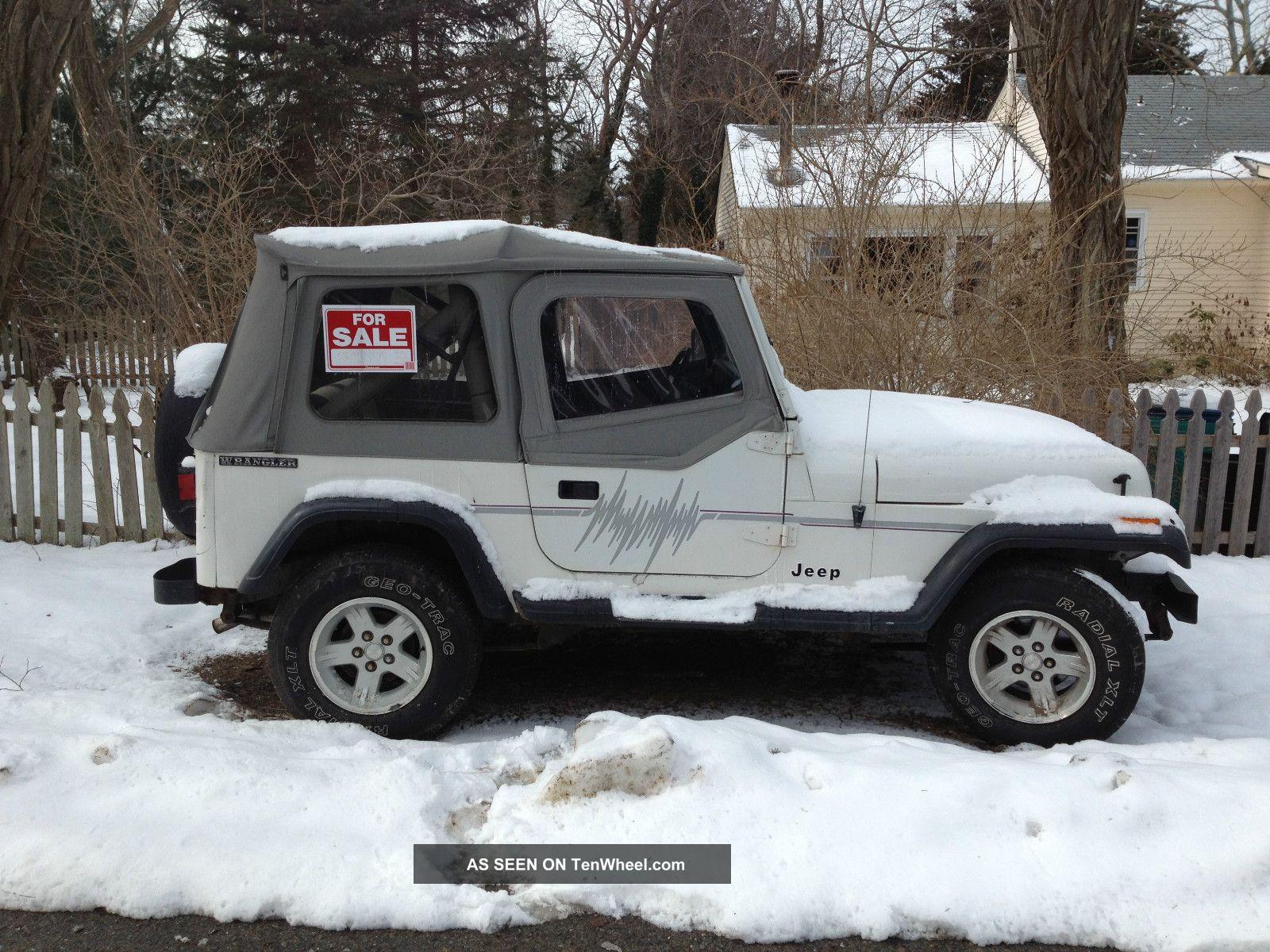 1989 Jeep Wrangler Base Sport Utility 2 Door 4 2l