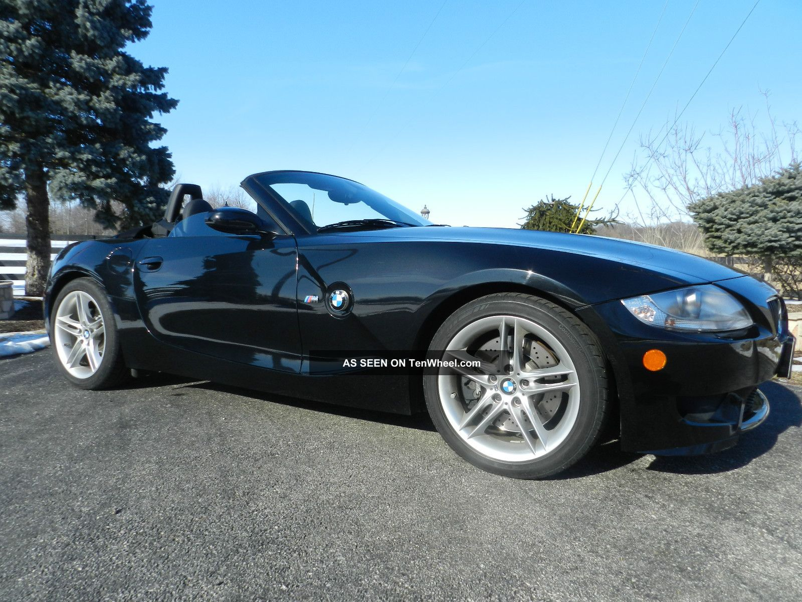 2007 Bmw Z4 M Roadster Convertible 2 Door 3 2l