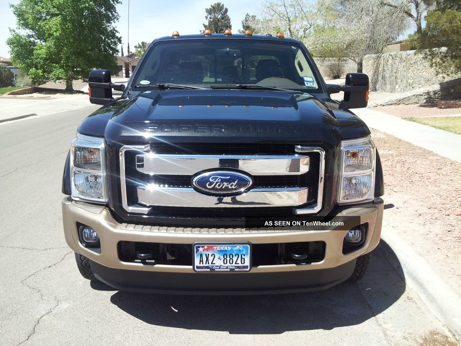 2011 ford f450 4x4 dually king ranch crew cab. Black Bedroom Furniture Sets. Home Design Ideas
