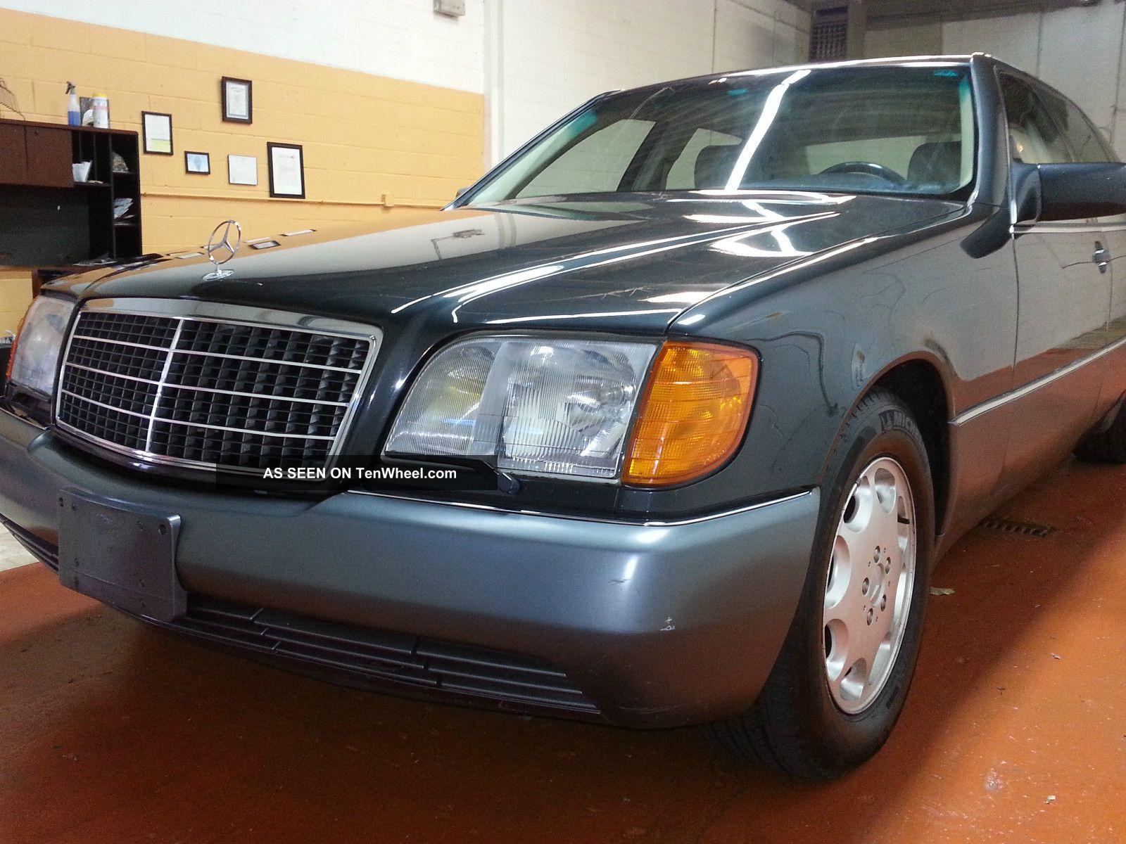 1992 mercedes benz 500sel s500 sedan 4 door 5 0l for Mercedes benz 1992