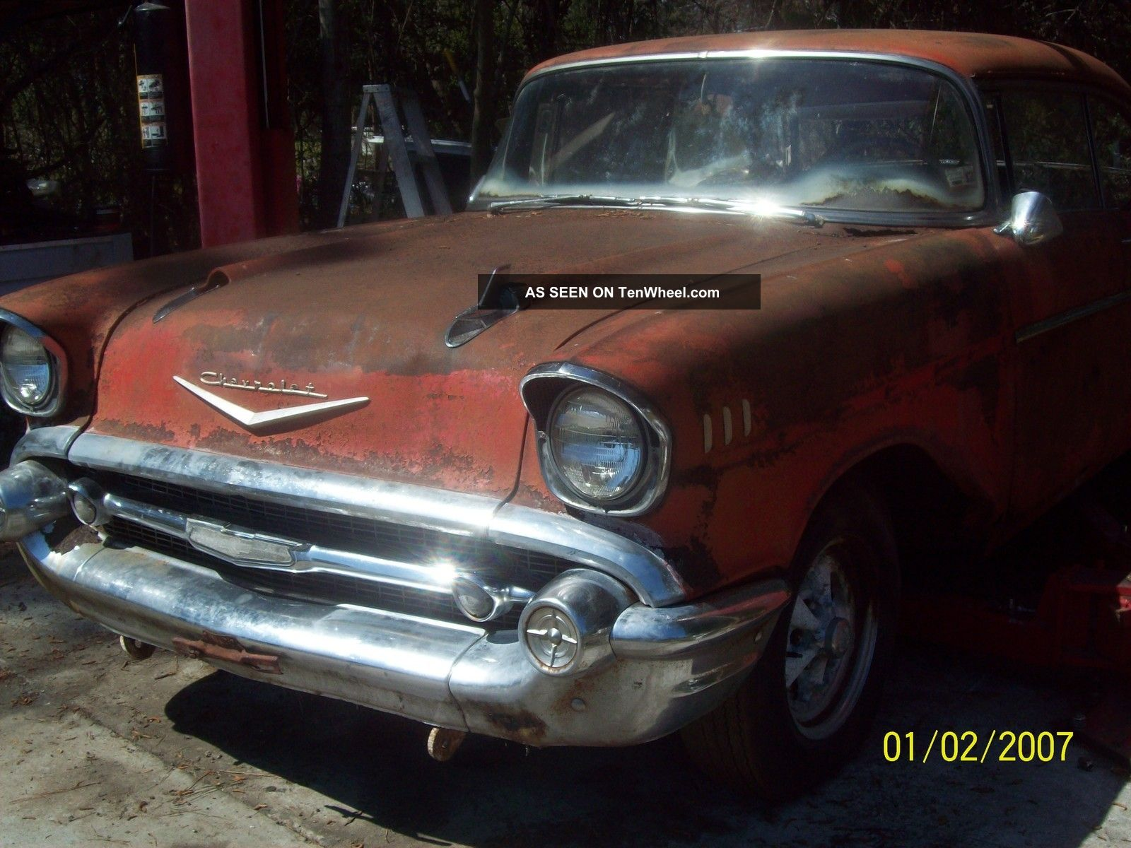 1957 Chevy Bel Air 2 Door Hard Top Hardtop