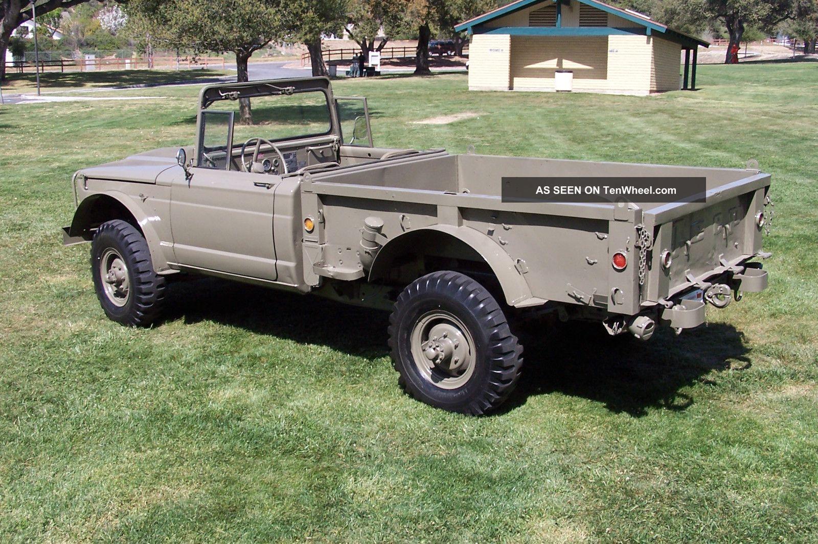 Jeep Kaiser Military M M Truck X Ton Five Quarter Lgw on Custom Jeep Kaiser M715