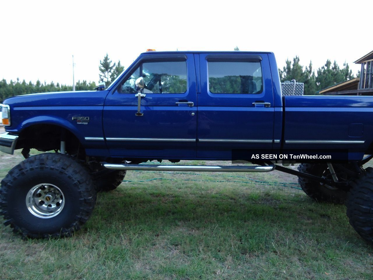7.3 Powerstroke Specs >> 1997 F350 4x4 Crew Cab Diesel Monster On 44 ' S