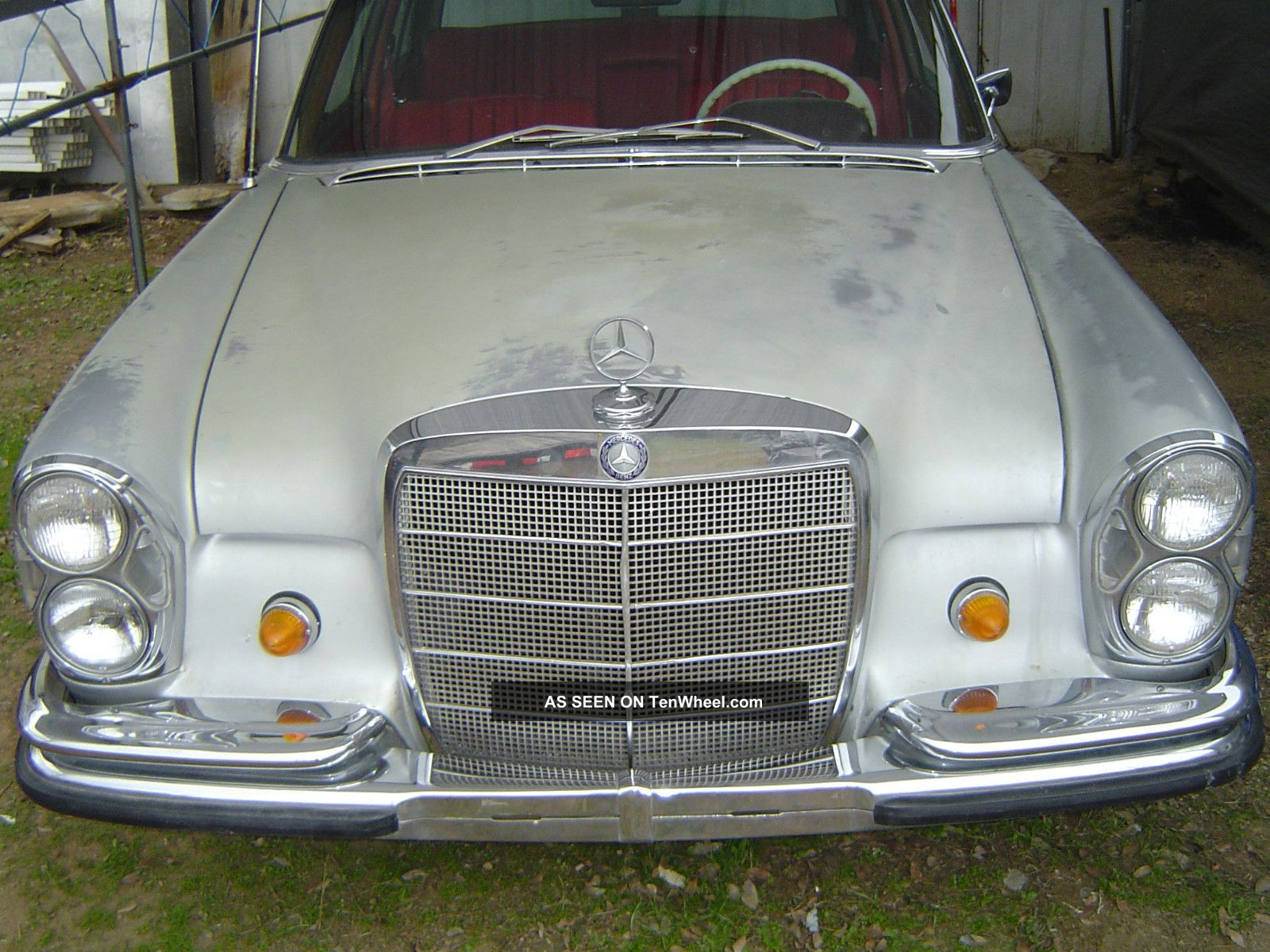Mercedes Benz 1967 300 Sel W109 Chassis 6 Cylinder 4 Speed Manual 300-Series photo