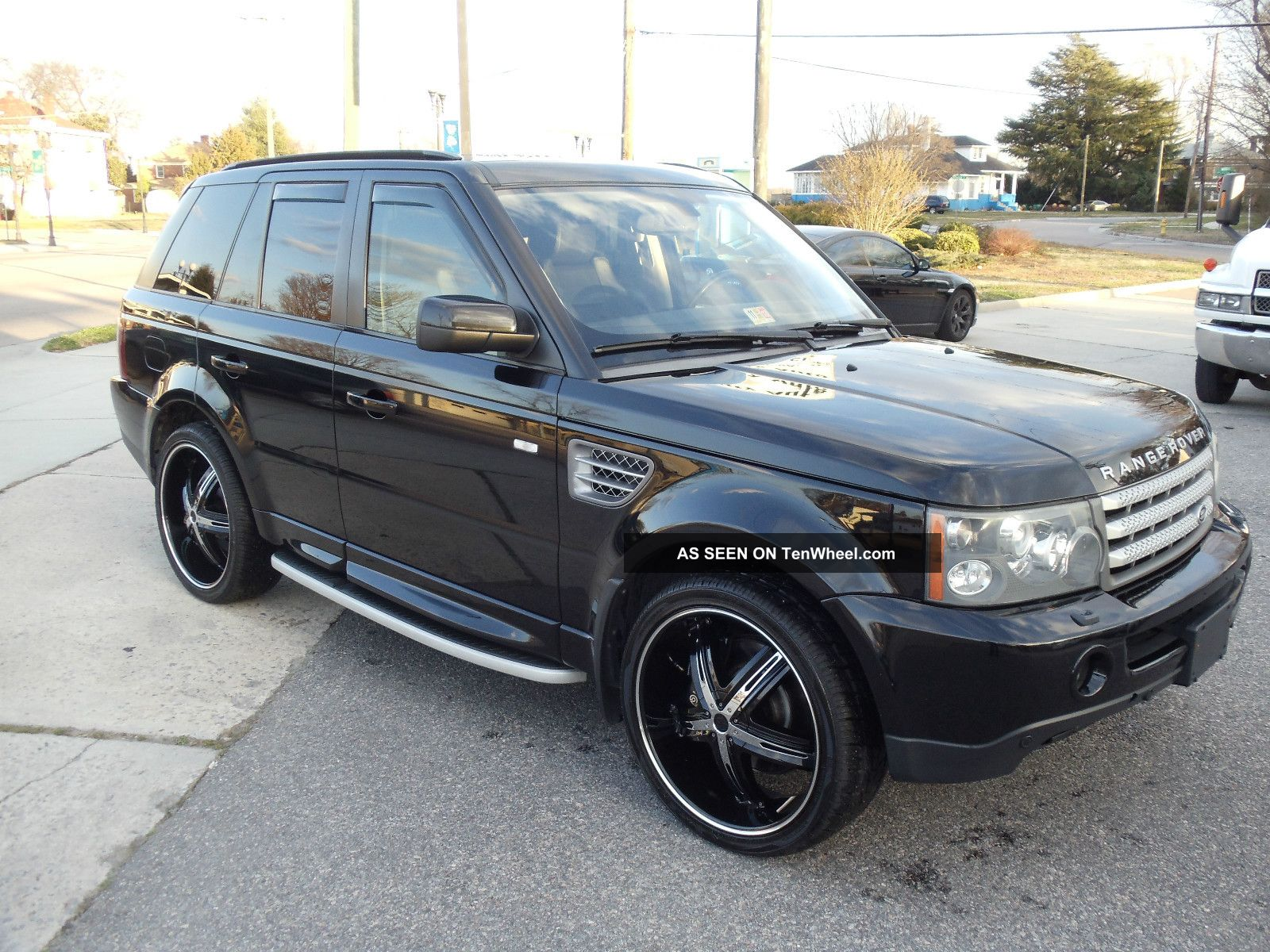 2006 range rover sport supercharged black dvd. Black Bedroom Furniture Sets. Home Design Ideas