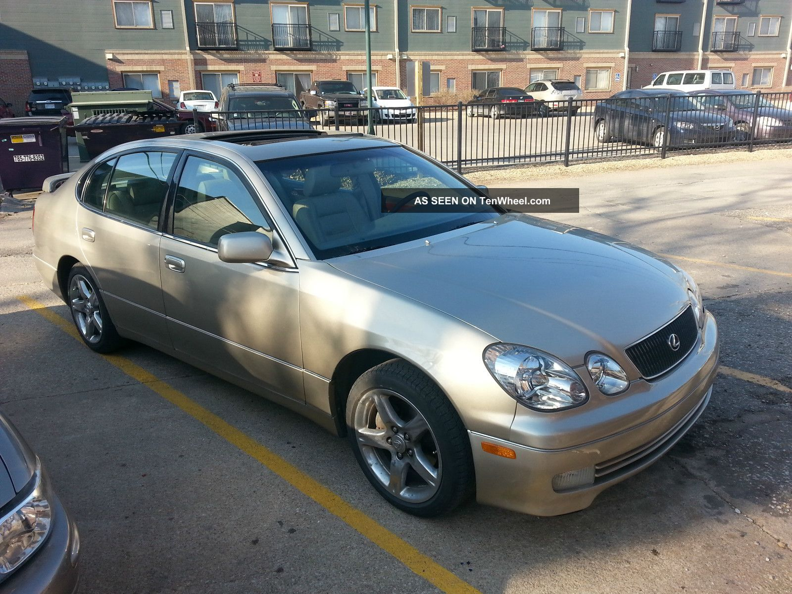 Lexus Gs400 Specs >> 1998 Lexus Gs400 Base Sedan 4 - Door 4. 0l
