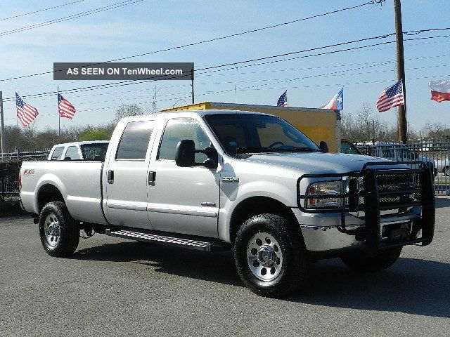 2007 ford f350 4x4 fx4 off road crew cab long bed power. Black Bedroom Furniture Sets. Home Design Ideas