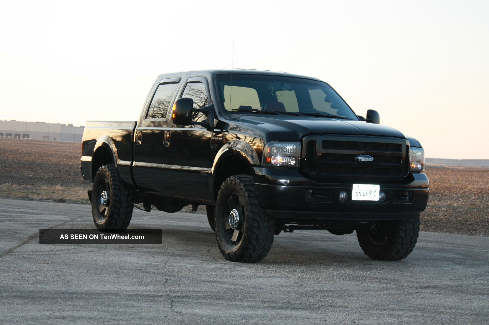 2007 ford f 350 duty lariat crew cab pickup 4 door 6. Black Bedroom Furniture Sets. Home Design Ideas