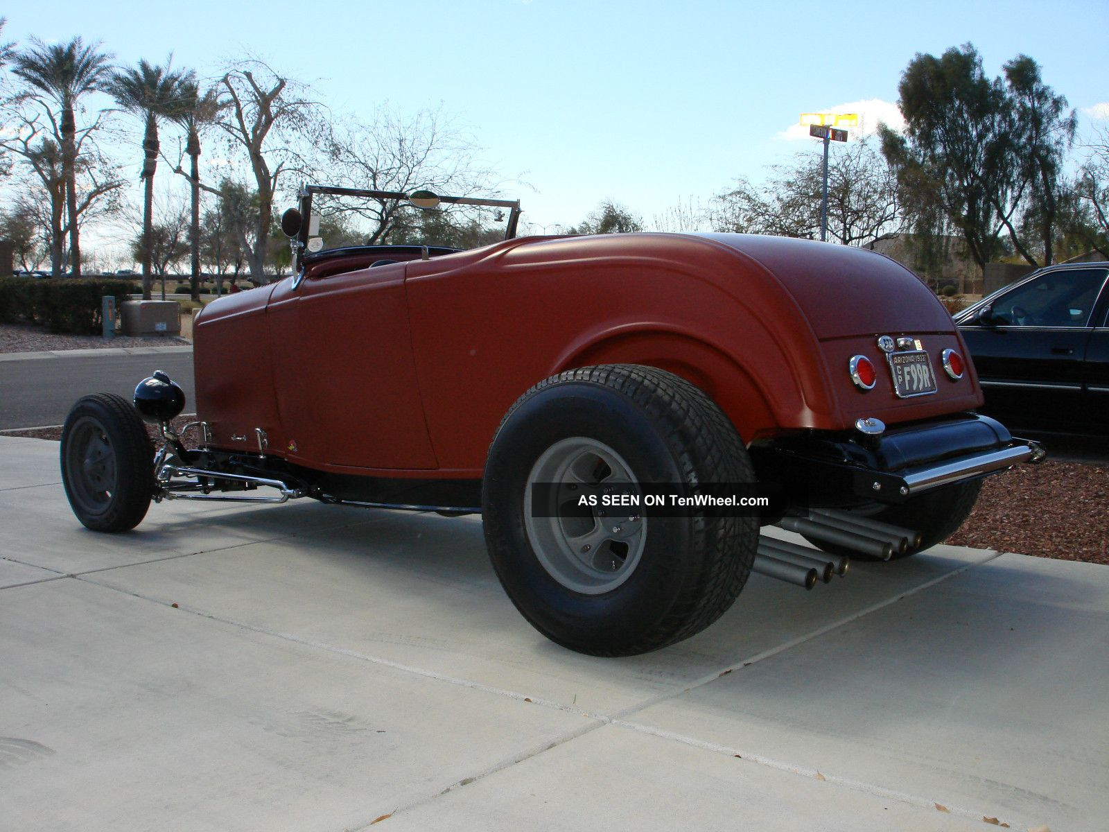 1932 Ford Roadster Hot Rod, Steel Rod Body, Model A 1934 1940