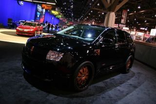 2008 Lincoln Mkx Premium Sport Utility 4 - Door 3.  5l Custom Sema Build photo
