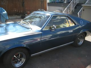 1969 Amc Amx Complete Rebuilt Motor photo