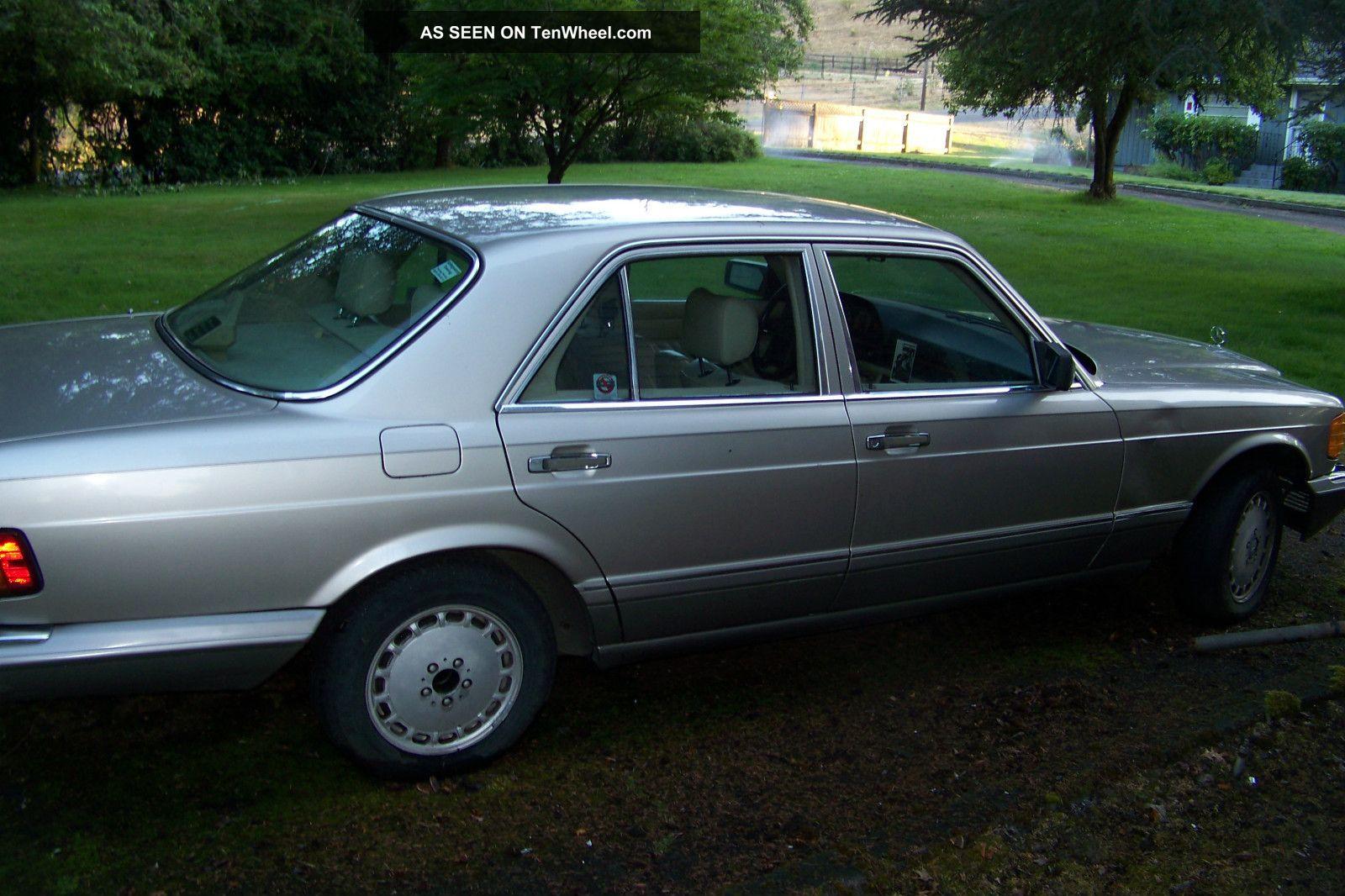 1991 mercedes benz 300se 300 se for Mercedes benz 300 se