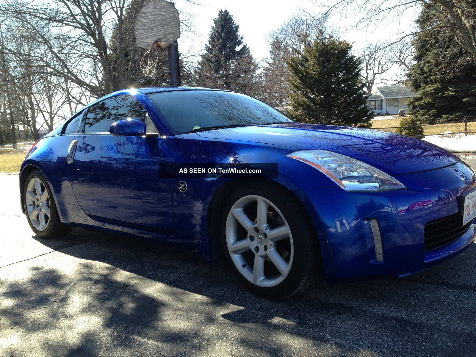 2003 Nissan 350z Daytona Blue