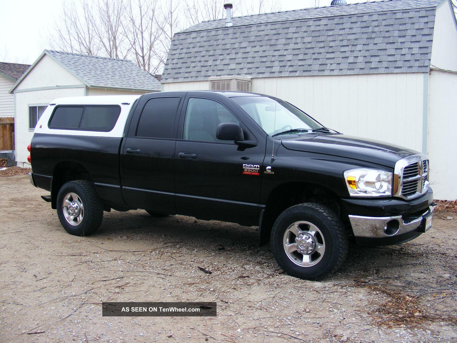 2008 dodge diesel ram 2500 hd 4 x 4 crew cab. Black Bedroom Furniture Sets. Home Design Ideas