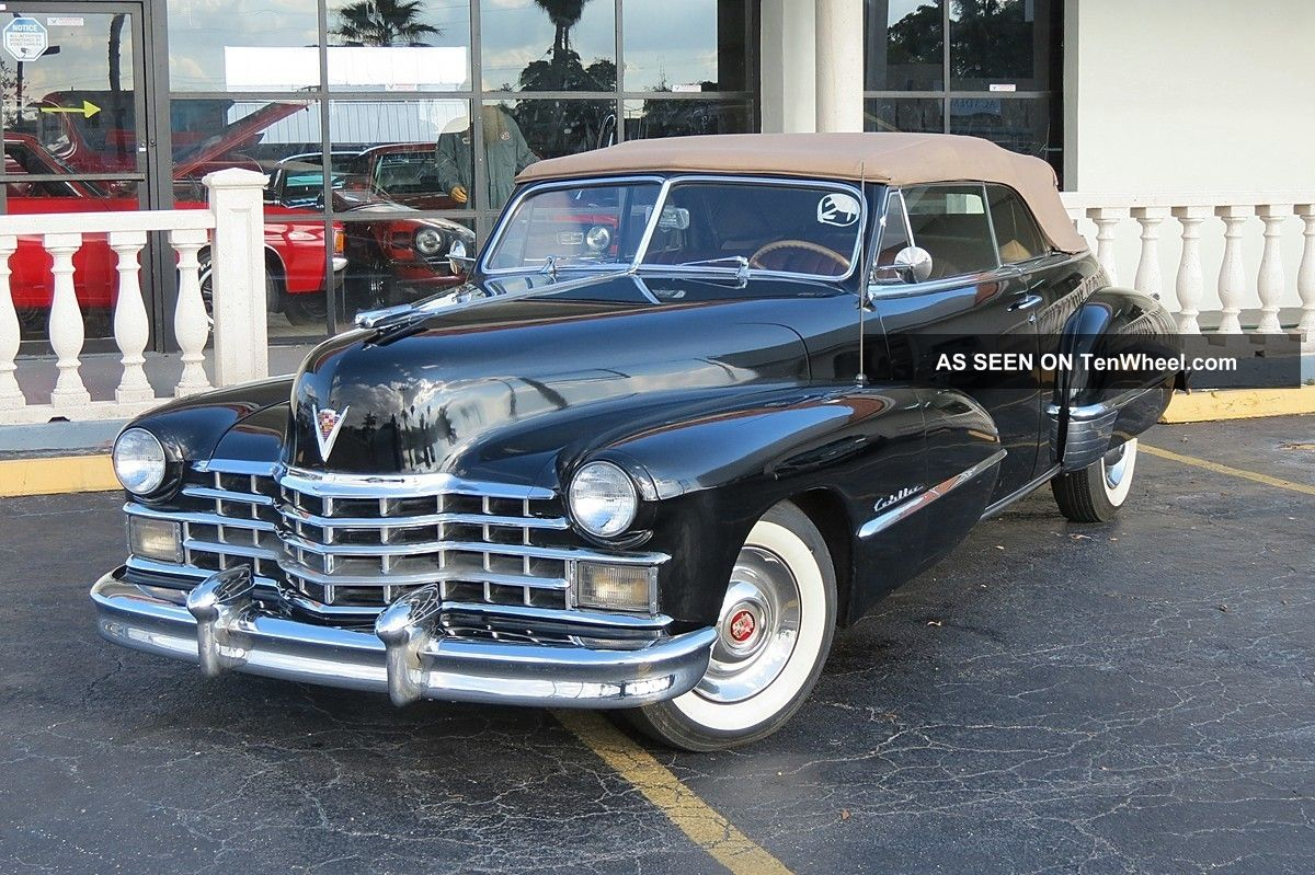1947 Cadillac Convertible 1 Of The Best Celebrity Owner - I Take Payments Other photo