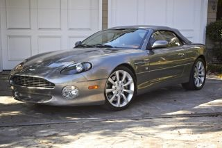 2003 Aston Martin Db7 V - 12 Vantage Volante Rare 6 - Speed Manual Gearbox photo