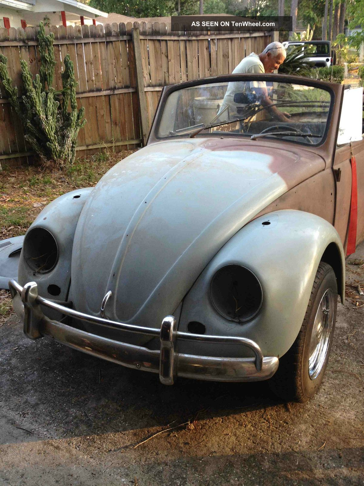 1967 Vw Convertible Bug Type 1 Rare One Year Only Beetle