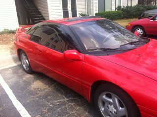 1996 Subaru Svx Lsi Awd Red Auto 216k Needs Transmision Work photo