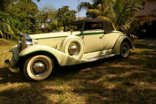 1933 Packard 8 Roadster Convertible photo