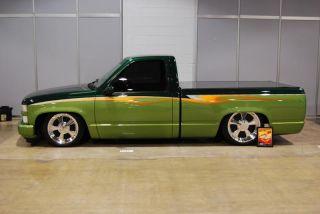 1993 Chevrolet Custom Built 454ss 2 Tone Green Show Truck photo