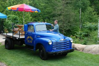 1948 Chevrolet 1.  5 Ton Dually,  Custom Flat Bed For Parades photo