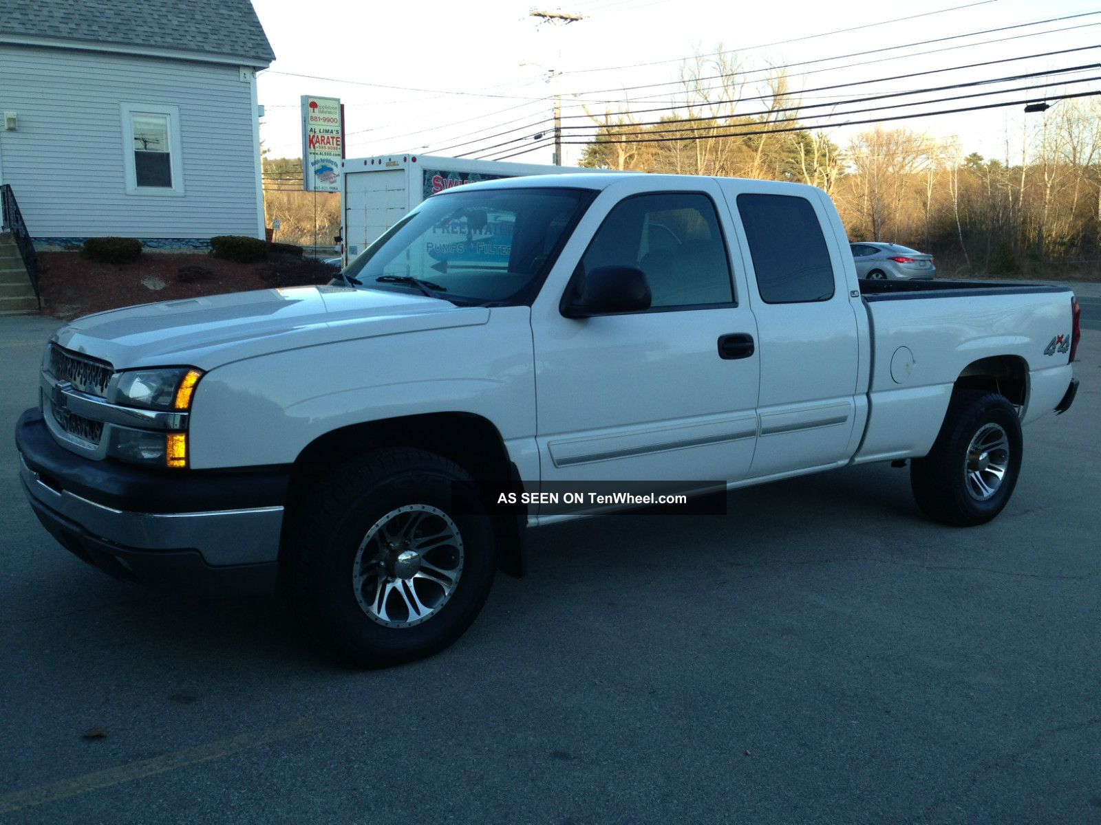 2004 chevrolet silverado 1500 ls extended cab pickup 4 door 4 8l. Black Bedroom Furniture Sets. Home Design Ideas