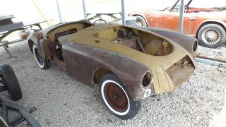 1957 58? Mga Roadster Project photo