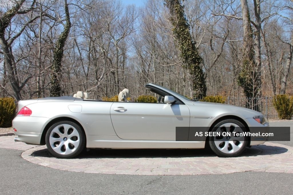 2005 Bmw 645ci Base Convertible 2 Door 4. 4l 6 Series photo 10