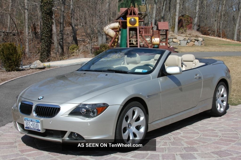2005 bmw 645ci base convertible 2 door 4 4l. Black Bedroom Furniture Sets. Home Design Ideas