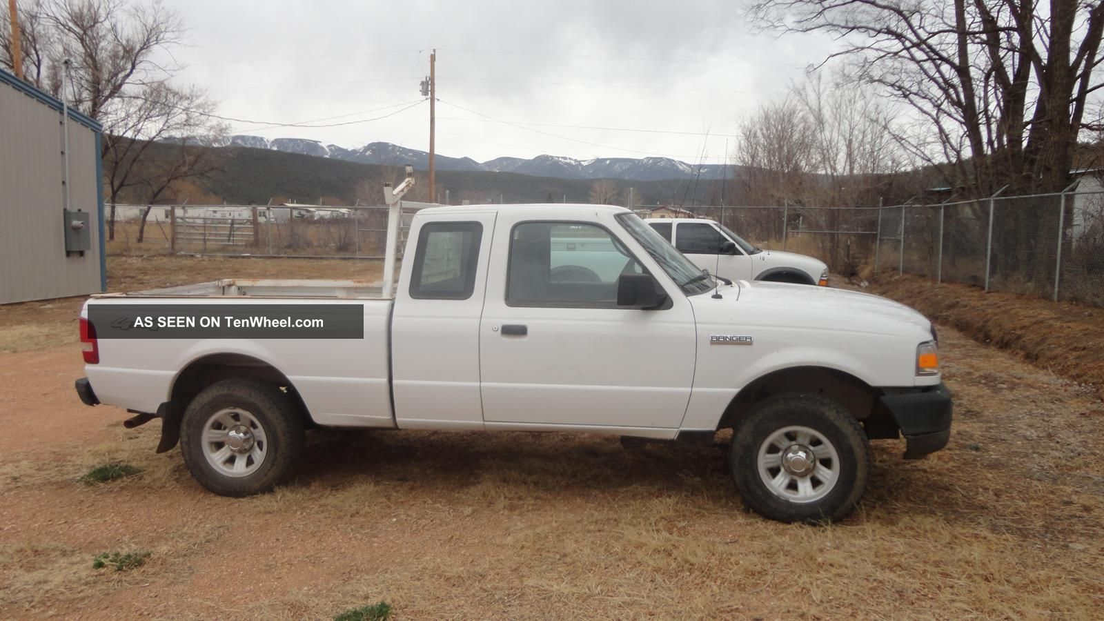 2007 ford ranger xl extended cab pickup 2 door 4 0l. Black Bedroom Furniture Sets. Home Design Ideas
