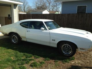 1971 Oldsmobile 442 Base 7.  5l photo