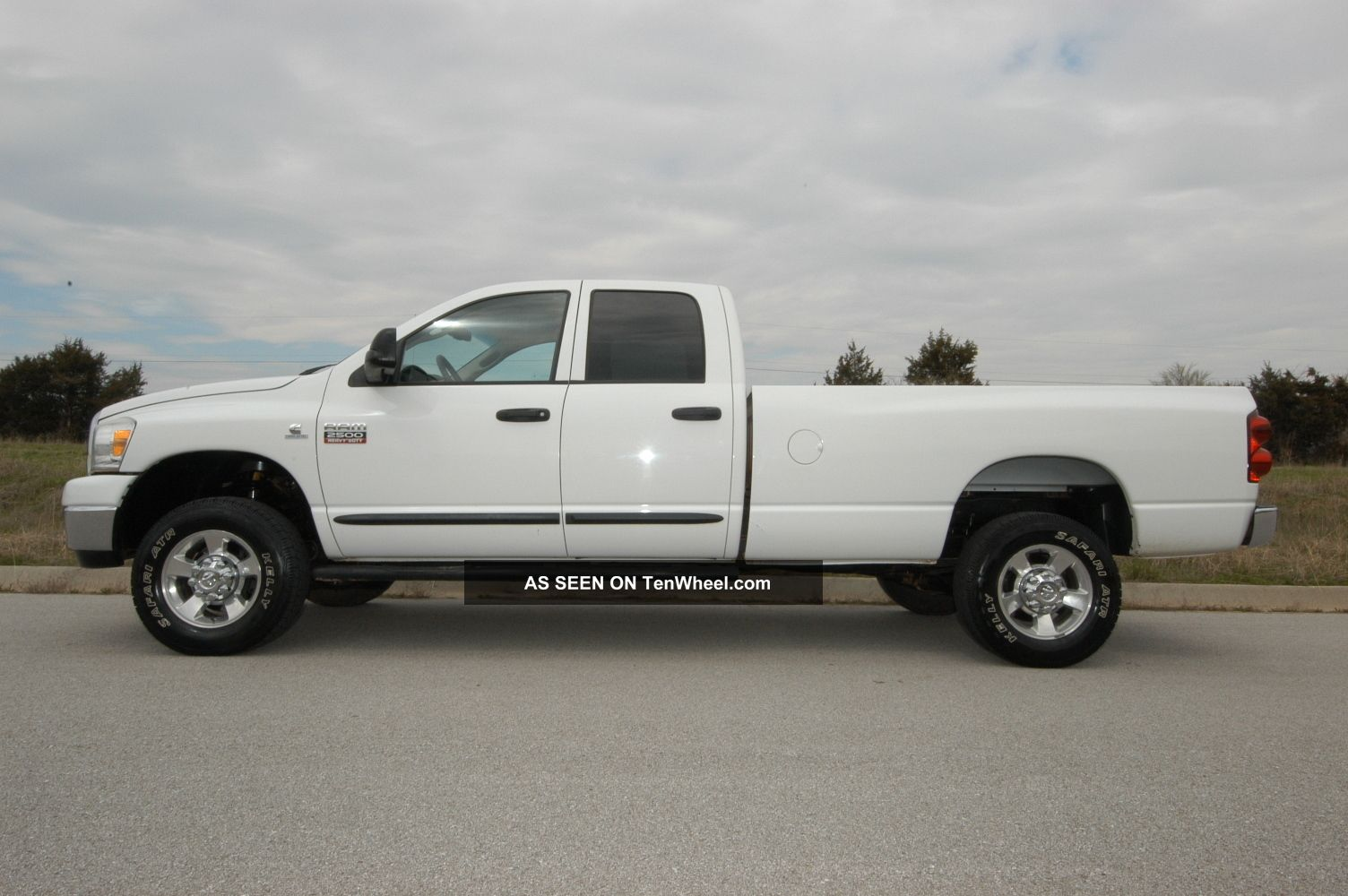 2007 dodge ram 2500 big horn 4wd quad diesel automatic. Black Bedroom Furniture Sets. Home Design Ideas