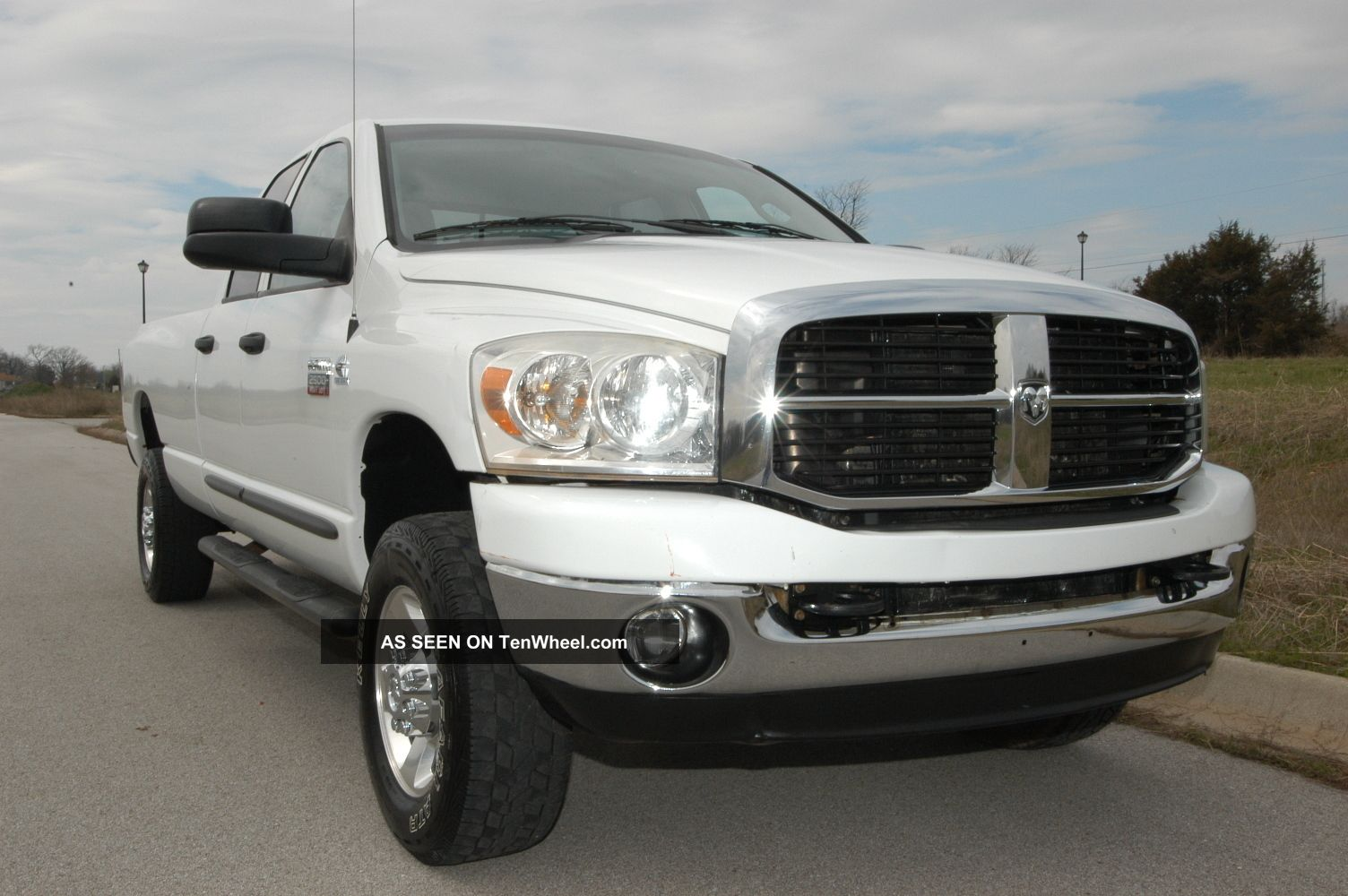 2007 dodge ram 1500 slt quad cab 4x4 towing. Black Bedroom Furniture Sets. Home Design Ideas
