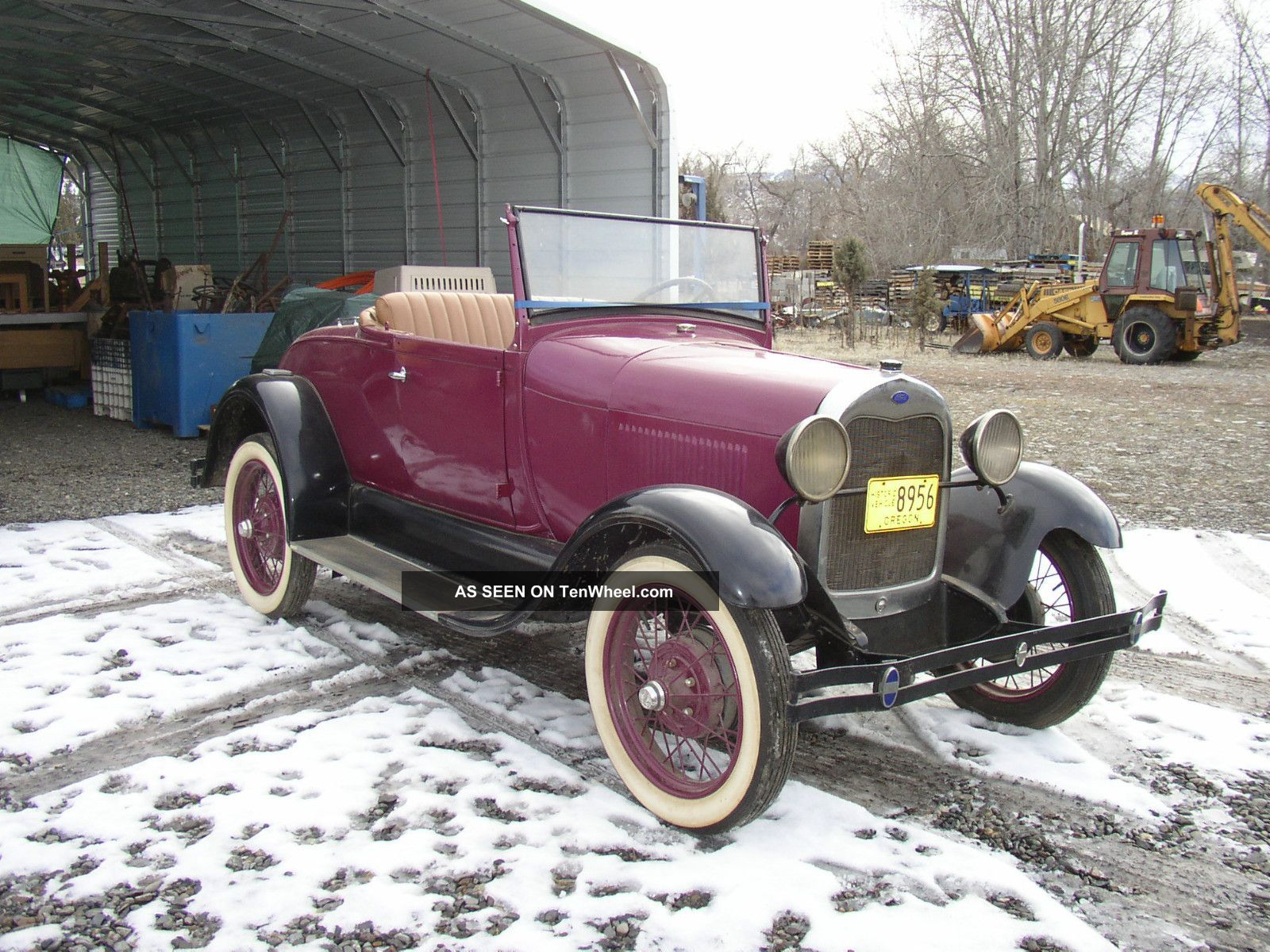1929 29 Ford Model A Roadster Steel Body Hot Rat Street Rod 1932 32 Convertible Other photo