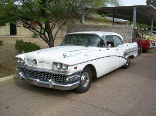 1958 Buick Special 4drht.  All Az Car Rust -. photo