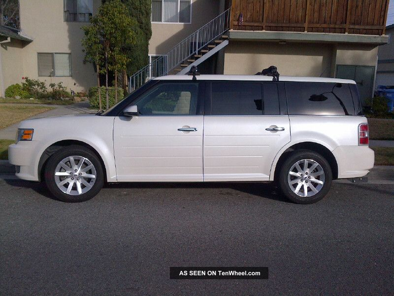 2009 ford flex sel sport utility 4 door 3 5l. Black Bedroom Furniture Sets. Home Design Ideas