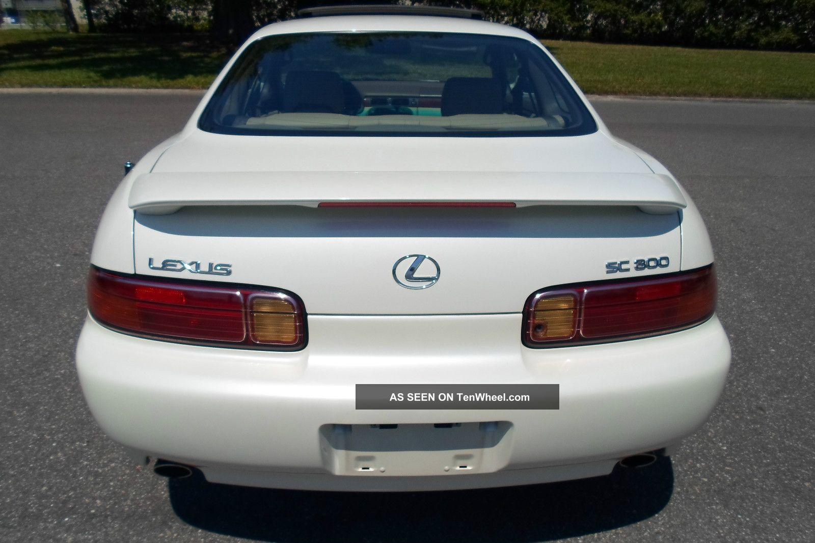 1997 Lexus Sc 300 Luxury Sport Car 92 Sc400 Wiring Diagram