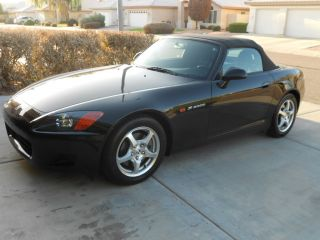 2001 Honda S2000 Base Convertible 2 - Door 2.  0l photo