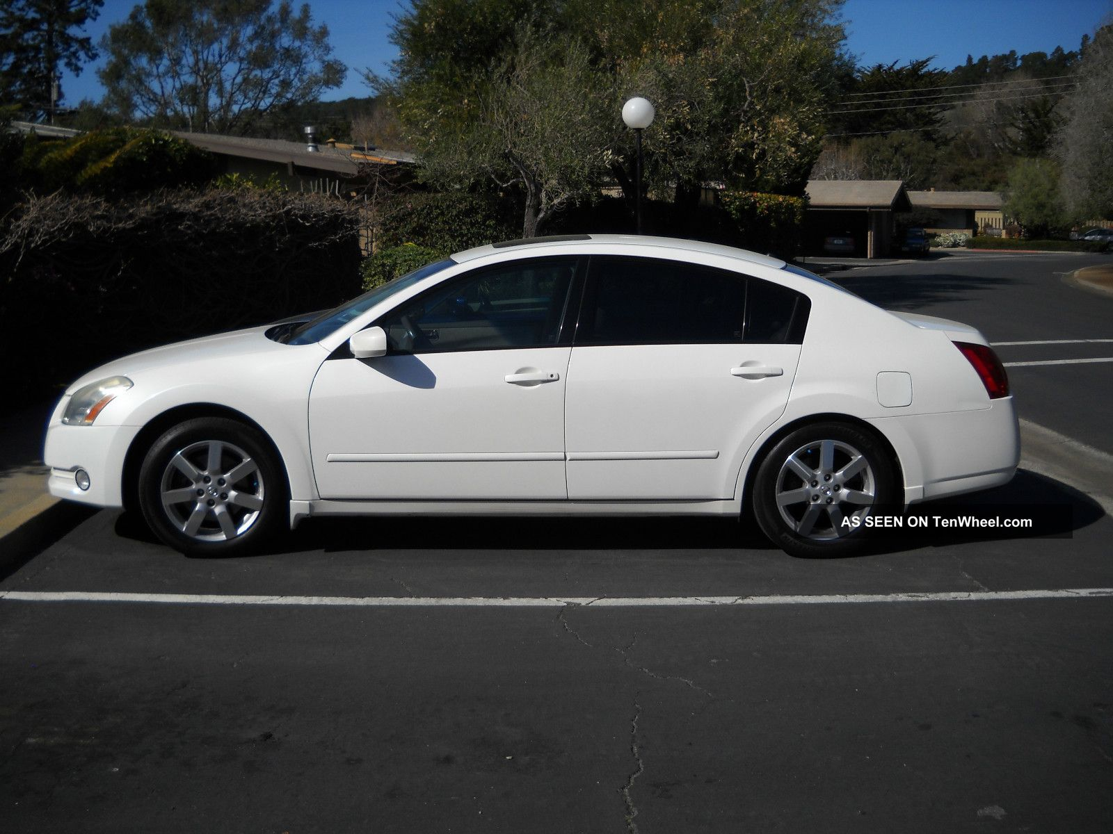Nissan Maxima Sl Sedan Door L White Tinted Windows Lgw